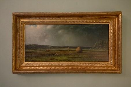 Painting of the haystacks